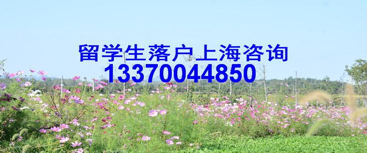 留学生落户上海咨询电话021-34610179