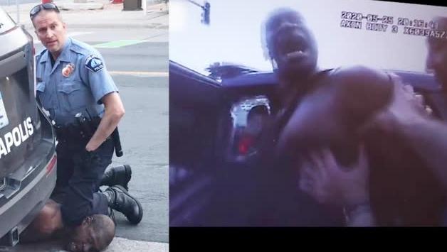 黑人之死执法记录仪画面曝光 哭喊妈妈救我